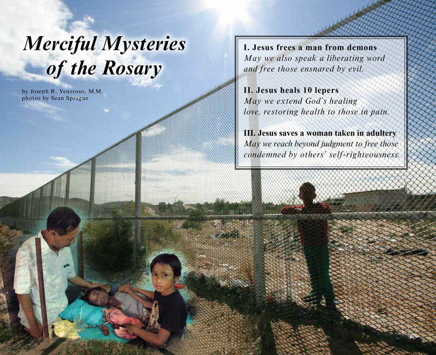 Merciful Mysteries of the Rosary By Joseph R. Veneroso, M.M.