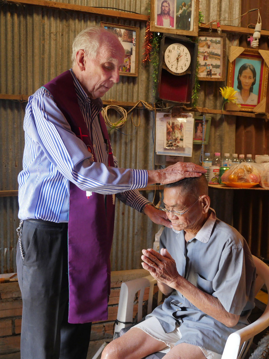 Maryknoll Priest in Cambodia