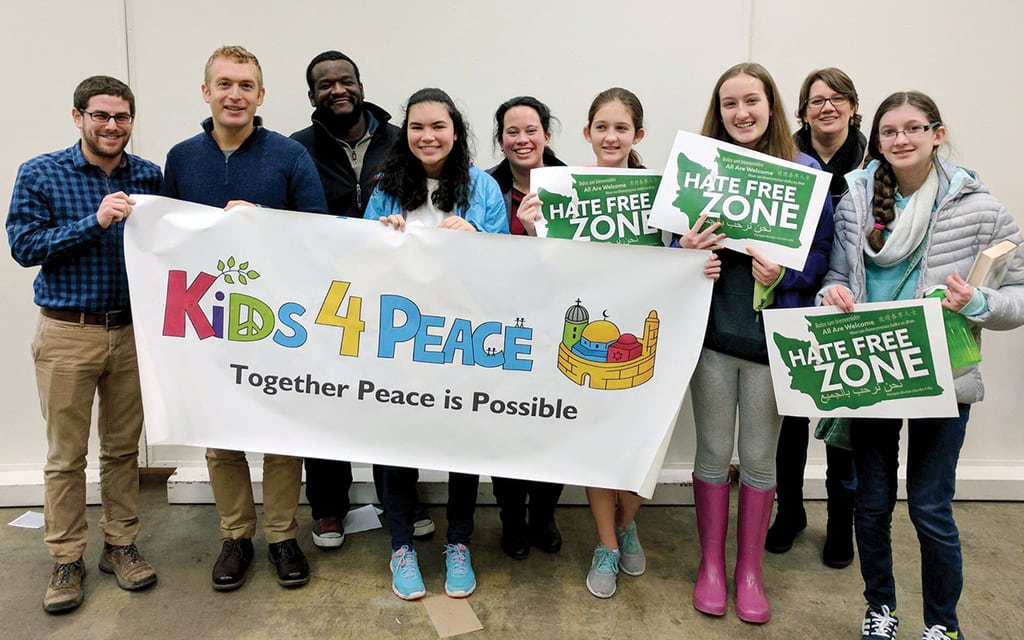 Guiding young peacemakers