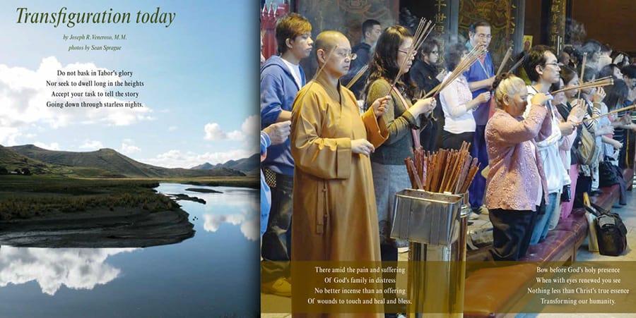 Maryknoll Photo Meditation, March / April 208