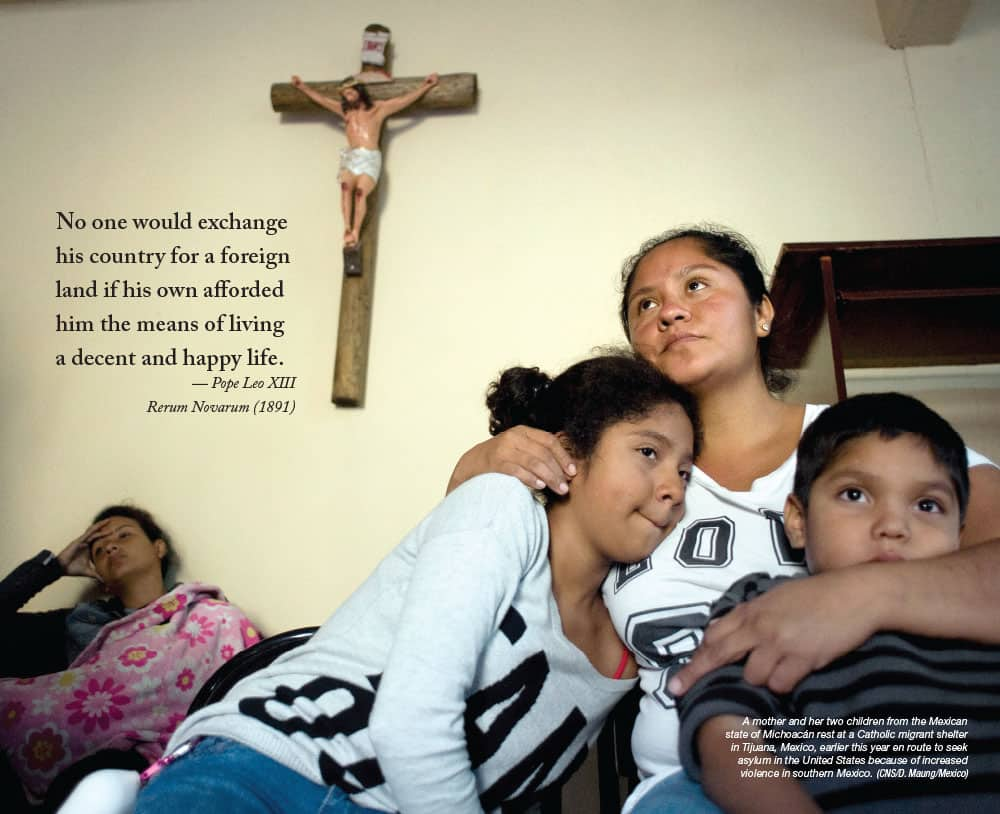 Maryknoll Magazine Posters 2018: Migrants and Refugees- July/August 2018