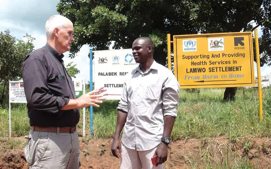 Sharing God's mercy in Uganda