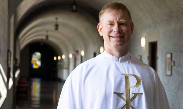 A new priest is ordained at Maryknoll despite restrictions of COVID-19