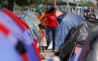 At Mexican Camp Near U.S. Border, Asylum-Seekers Grow More Desperate