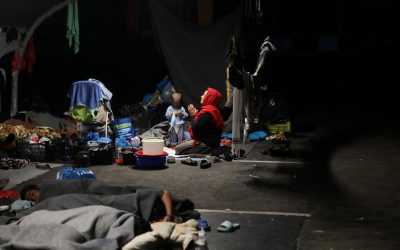 Tensions High Between Refugees and Locals After Lesbos Fire