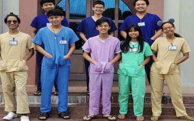 Catholic COVID-19 Volunteer Inspires Myanmar Youth