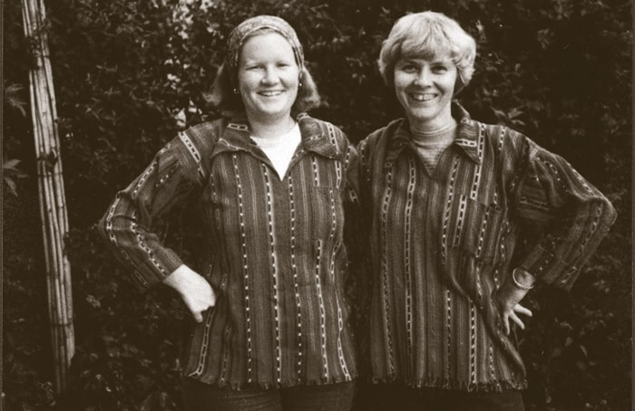 Lay Missioner Jean Donovan (l.) and Ursuline Sister Dorothy Kazel were members of the Cleveland Diocese mission team in El Salvador when they were martyred along with two Maryknoll sisters in 1980. (Ursuline Sisters of Cleveland Archives)