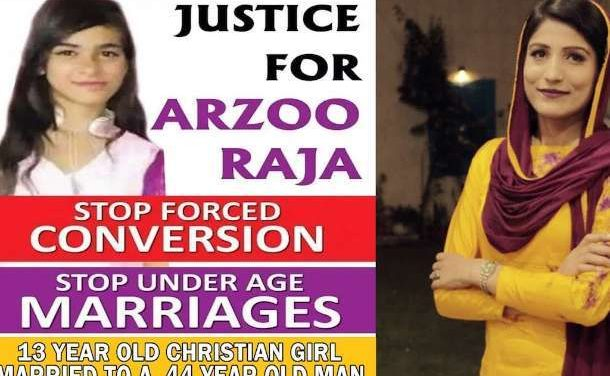 Pakistan Court Orders Recovery of Abducted Child Bride Arzoo Raja
