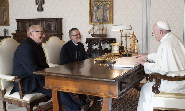Pope Meets With Missionary Priest Freed After Two-Year Captivity