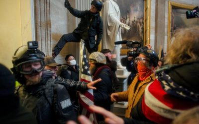 Assault on U.S. Capitol Shocks the World