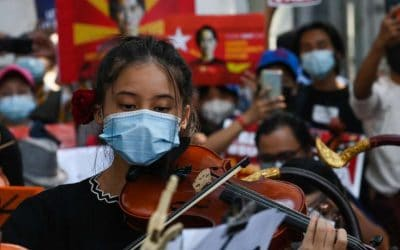 Protests Against Military Coup Intensify in Myanmar