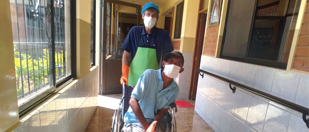 Lay Missioner is Lifting Spirits Restoring Life in Bolivia