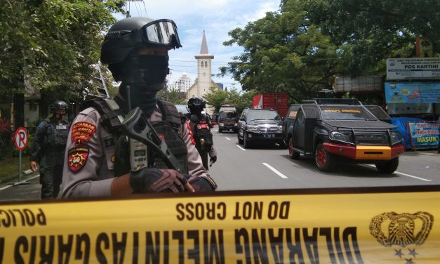 Police and Military in Indonesia to Step Up Security at Churches for Easter