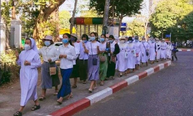 Brave Myanmar Nuns Refuse to be Silenced by Military Power