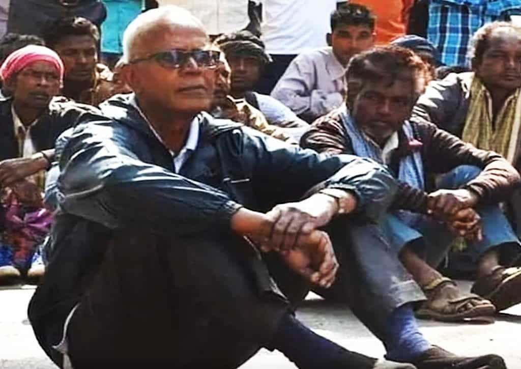 Jesuit Father Stan Swamy, pictured in a screenshot from a video, has been incarcerated in an Indian jail since his Oct. 9, 2020. Father Swamy marked his 100 days in prison with a letter highlighting the cases of poor people languishing in jail who begin their trials without even knowing their criminal charges. (CNS screenshot/YouTube)