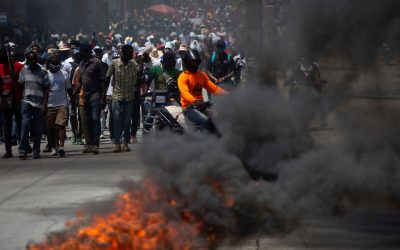 Tear Gas Lobbed Into Bishops' Mass for Freedom in Haiti