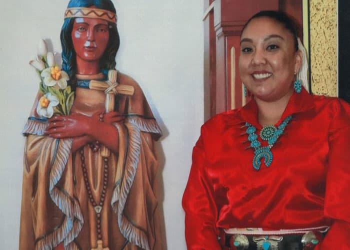 Teresa Rojo Tsosie is seen in this undated photo. She is the director of religious education at St. Jude Parish in Tuba City, Ariz. (CNS photo/courtesy Teresa Rojo Tsosie, via Christina Knauss)